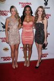 Katrina Bowden, Meagan Tandy, Danielle Panabaker at the  Royalty Free Stock Image