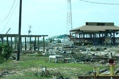 Katrina, Gulfport Hafen Stockbild