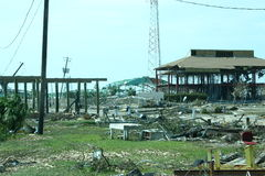 Katrina, haven Gulfport Stock Afbeelding