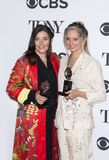 Katrina Lindsay and Christine Jones at 2018 Tony Awards royalty free stock image