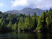 Katrine del lago de la visión Imagenes de archivo