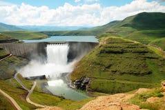 Katse Dam Royalty Free Stock Photo