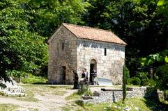 Katskhi柱子的教会 库存照片