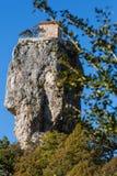 Katskhi pillar. Georgian landmarks. royalty free stock images