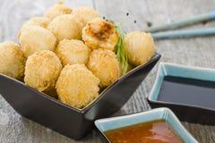 Katsu Chicken Balls Stock Photography
