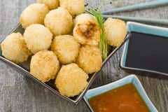 Katsu Chicken Balls Stock Image