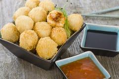 Katsu Chicken Balls Stock Photos