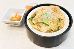 Katsu Don japończyka jedzenie Obraz Royalty Free