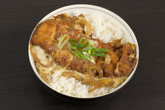 Katsudon Royalty Free Stock Photography