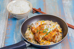 Katsudon Royalty Free Stock Images