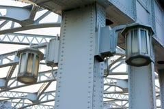 Katsukebashi most na otwarcia i przymknięcia moscie fotografia royalty free
