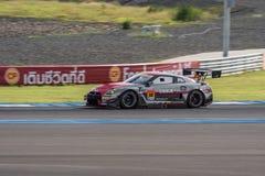 Katsumasa Chiyo de GAGNANT dans la course finale superbe du GT 66 recouvrements à 2015 Photos libres de droits