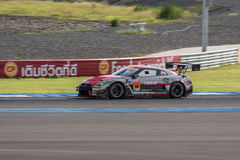 Katsumasa Chiyo of GAINER in Super GT Final Race 66 Laps at 2015 Royalty Free Stock Photos
