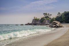 Katsurahama Beach, Kochi, Japan royalty free stock photo