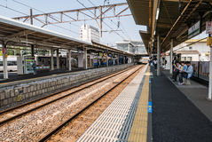 Katsuta Station Stock Images