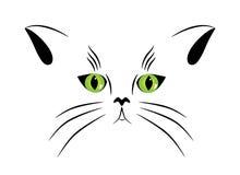 katt stock illustrationer