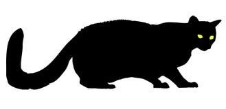 Katt royaltyfri illustrationer