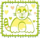 katt box2 Arkivfoton