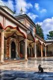 Katt för Bursa emirsultan moskékalkon Royaltyfri Bild