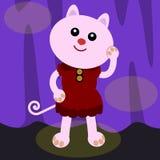 Kattenmodel Royalty-vrije Stock Foto's
