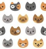 Kattenpatroon Royalty-vrije Stock Foto's