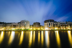 Kattensloot at night, in Amsterdam, The Netherlands. Stock Photo