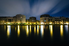Kattensloot at night, in Amsterdam, The Netherlands. Stock Photography