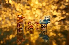 Kattenspelen royalty-vrije stock foto