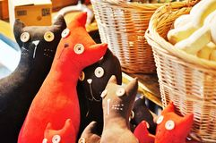 kattenstuk speelgoed Royalty-vrije Stock Foto