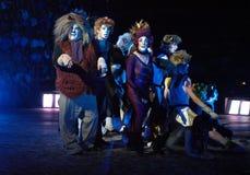 Katter musikalen Royaltyfri Bild
