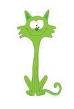 kattgreen stock illustrationer