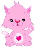 katthälsningar stock illustrationer