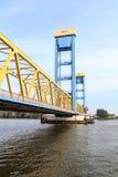 Kattwyk most w Hamburg Zdjęcia Stock