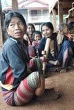 Katu种族妇女 库存图片