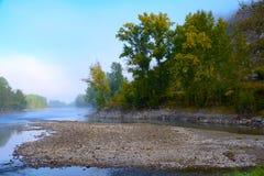 Katun river, Altai Krai Stock Photo