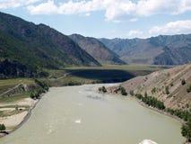 Katun river Royalty Free Stock Images