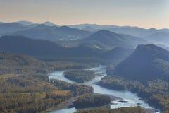 Katun River Valley Stock Photos