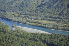 Katun River Valley Stock Photography