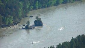 Katun river stock footage