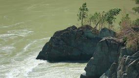 Katun river stock video