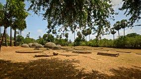 Katurogoda Ancient Vihara, dagobas Stock Image