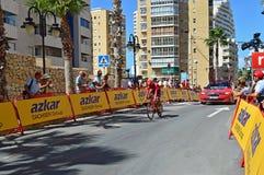 Katusha d'équipe de course de cycle Images stock