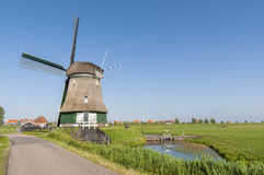 Katwoude wind mill, in Volendam Royalty Free Stock Images