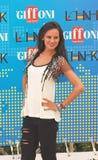 Katy Louise Saunders al Giffoni Film Festival 2011 Stockbilder