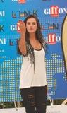 Katy Louise Saunders al Giffoni Film Festival 2011 Fotografering för Bildbyråer