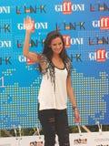 Katy Louise Saunders al Giffoni Film Festival 2011 Lizenzfreies Stockbild