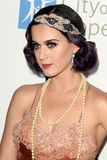 Katy Perry arrives at the City of Hope's Music And Entertainment Industry Group Honors Bob Pittman Event. LOS ANGELES - JUN 12:  Katy Perry arrives at the City Royalty Free Stock Photo