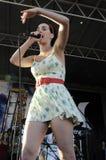 Katy Perry Ausführung Phasen. lizenzfreies stockfoto