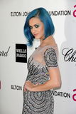 Katy Perry, Elton John Stock Photo