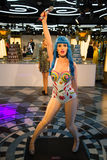 Katy Perry in Grevin museum of the wax figures in Prague. Royalty Free Stock Images